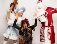 Дед Мороз и Снегурочка на Новом году