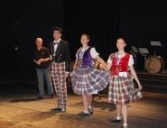 Шотландское шоу на праздник
