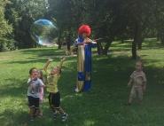 Детский клоун на день рождения