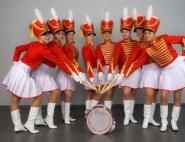 Оркестр барабанщиц