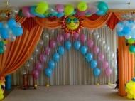 Украшение детских праздников шарами