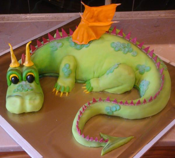 Новогодние торты фото год дракона