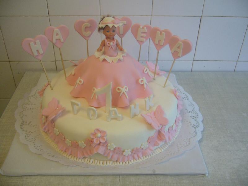 Торт на день рождения 3 года девочке своими руками