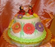 Свадебные торты на заказ недорого