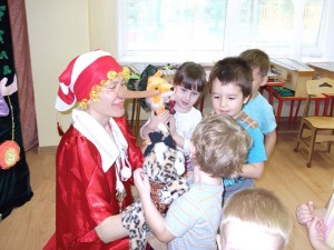 Выездные детские спектакли