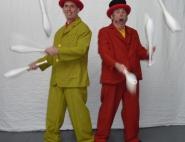 Жонглер на праздник