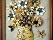 картины из семян