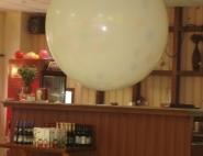 Оформление шарами выпускного вечера